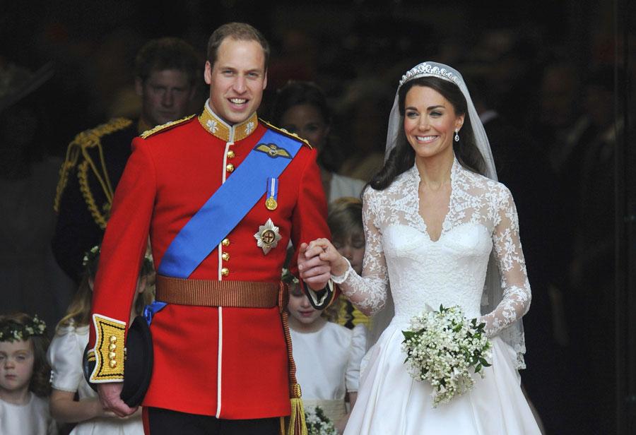 Fanfarrias y doriforias para una boda real