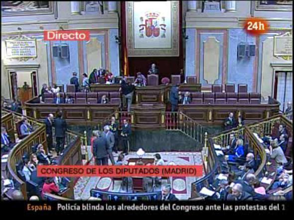 Reforma express de la Constitución española