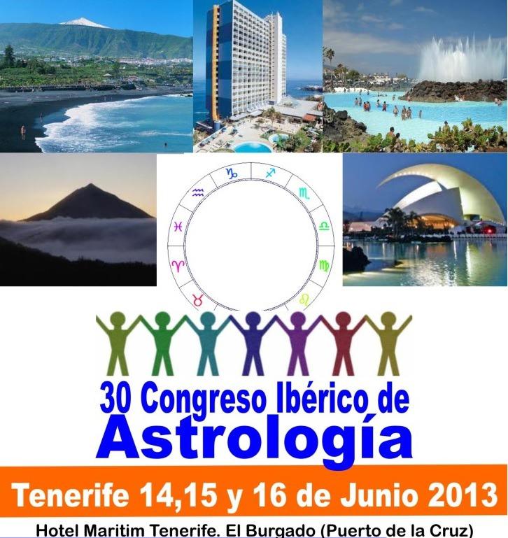 Participo en el 30 Congreso Ibérico de Astrología